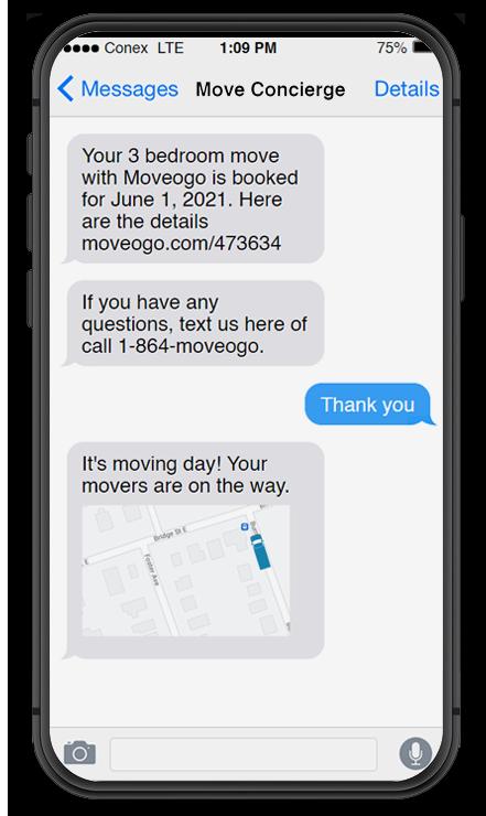 Moving Company App